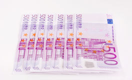 Moneta europea, euro Immagine Stock