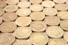 moneta funt Zdjęcia Royalty Free