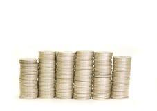 moneta odizolowywająca Fotografia Stock