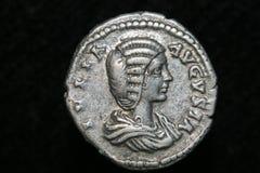 Moneta romana fotografia stock libera da diritti