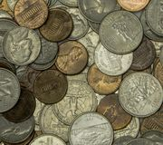 Moneta Stany Zjednoczone Fotografia Royalty Free