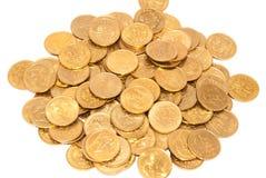 moneta stos Zdjęcia Stock