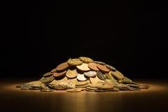 moneta stos zdjęcie royalty free