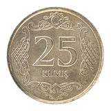 Moneta turca di kurus Fotografia Stock