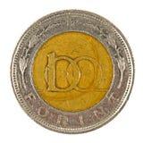 Moneta ungherese Fotografie Stock