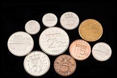 moneta znikać guldenu holandie Zdjęcia Stock