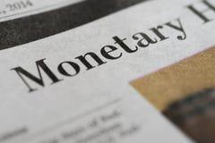monetair royalty-vrije stock afbeelding