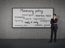 Monetair beleid stock fotografie