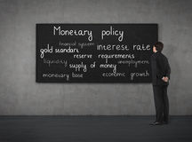 Monetair beleid royalty-vrije stock foto