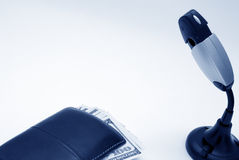 Monetair concept stock afbeelding