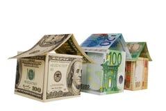 Monetair huis stock afbeelding