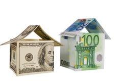 Monetair huis royalty-vrije stock foto