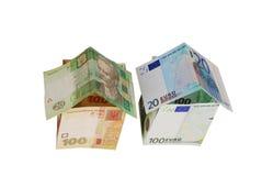 Monetair huis royalty-vrije stock afbeeldingen