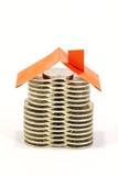 Monetair huis royalty-vrije stock foto's