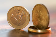 Monetair stelsel stock foto's