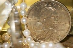 Monetair stelsel royalty-vrije stock afbeelding