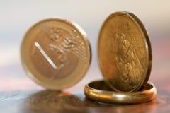 Monetair stelsel stock foto