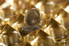 Monetair stelsel royalty-vrije stock foto