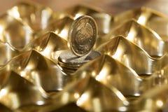 Monetair stelsel en rijkdom stock foto's