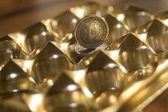 Monetair stelsel en rijkdom royalty-vrije stock foto