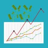 Monetary analysis Royalty Free Stock Photography