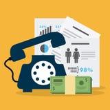 Monetary analysis Stock Photography