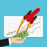 Monetary analysis Royalty Free Stock Images