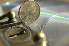 Monetary and banking security Stock Image