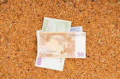 Monetary crop Royalty Free Stock Photography