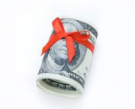 Monetary gift Stock Photos