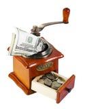 MONETARY GRINDER Stock Image