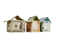 Monetary house Royalty Free Stock Images