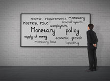 Monetary policy Stock Image
