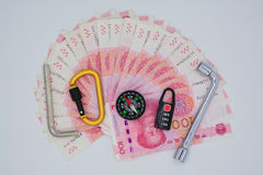 Monetary policy tools. RMB (abbreviation: RMB; CNY; currency code: currency symbol: RMB) is the national currency of People's Republic of China. Issued by the royalty free stock image
