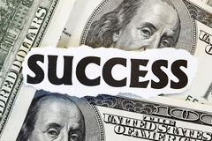 Monetary Success Royalty Free Stock Images