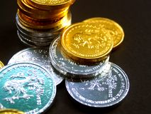 Monete 2 dell'euro Immagine Stock Libera da Diritti