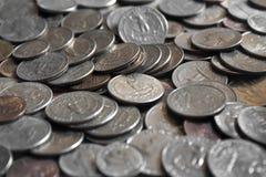 monete Fotografie Stock