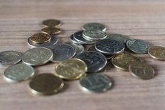 monete Immagini Stock Libere da Diritti
