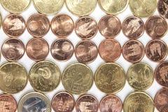 monete immagine stock