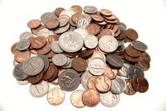 Monete americane immagini stock libere da diritti