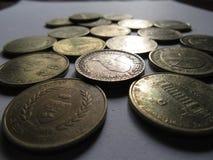 Monete antiche Fotografia Stock Libera da Diritti