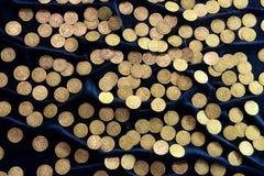 Monete antiche della Lituania Fotografia Stock
