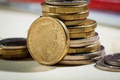 Monete australiane Immagine Stock