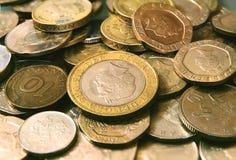 Monete britanniche Immagini Stock Libere da Diritti