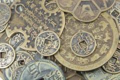 Monete cinesi Fotografia Stock