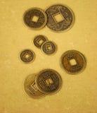 Monete cinesi di shui del feng Immagine Stock Libera da Diritti