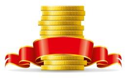 Monete con l'arco rosso