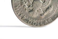 Monete degli S.U.A. Fotografia Stock Libera da Diritti