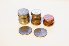 Monete degli S.U.A. Immagini Stock