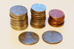 Monete degli S.U.A. Fotografia Stock